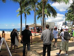 IMG_1822-W1000 (My PHOTOlulu) Tags: waikikibeach filming hawaiifive0 queensbeach h50 canonpowershots3is