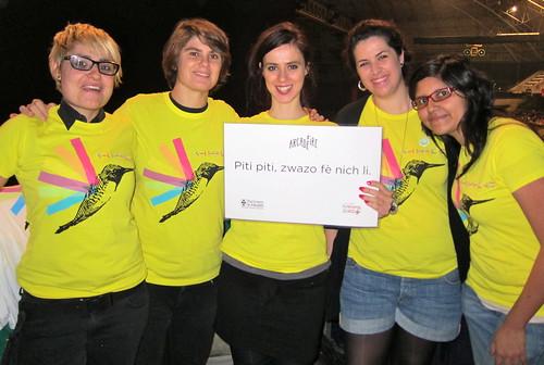 Barcelona volunteer crew!