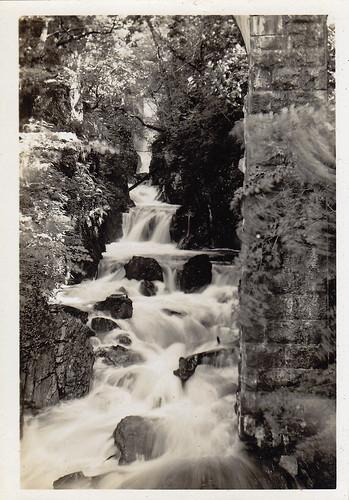 Falls of Cruachan, Scotland. 1935.