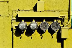 Anchorage Meters (andertho) Tags: yellow delete10 alaska delete9 delete5 delete2 delete6 delete7 limegreen save3 delete8 delete3 delete delete4 save save2 meter gauge powermeters deletedbydeletemeuncensored