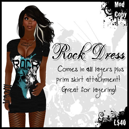 [IF] TOSL Item: Rock Dress