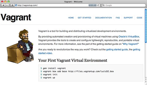 Vagrant - Welcome