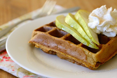 Gingerbread Waffles | Annie's Eats