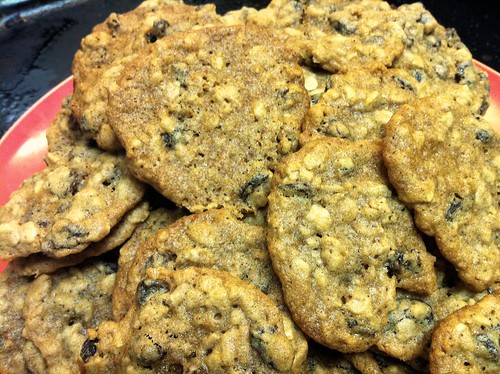 Oatmeal-Raisin Cookies Edit
