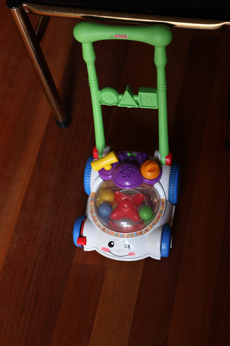 Fisher Price Laugh & Learn Lawnmower