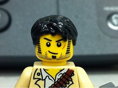 the LEGO equivalent of Shane from The Walking Dead.