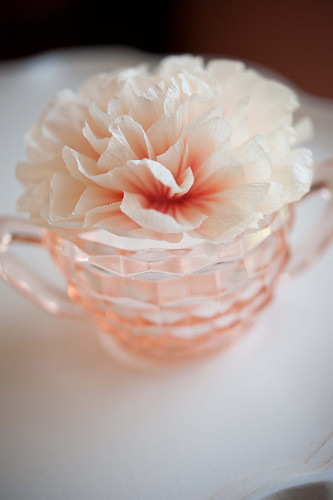 crepe paper flowers wedding. Wedding Decor - Crepe paper