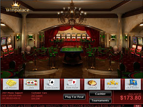 Win Palace Casino Lobby