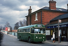 Epping Station RF NLE654 on the 339 in 1970. (David Christie 14) Tags: bus lt rf 339epping