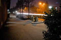 First snow of the Winter (ace_dave) Tags: snow night photography sigma1850ex acedave winterinthenetherlands davehouben nikond300s