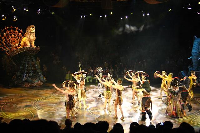 HongKong Disneyland - Simba performance