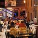 La rue Fardel un soir d'été