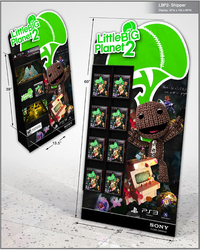 LBP2: In-store displays
