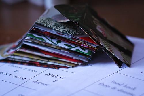 advent envelopes 2