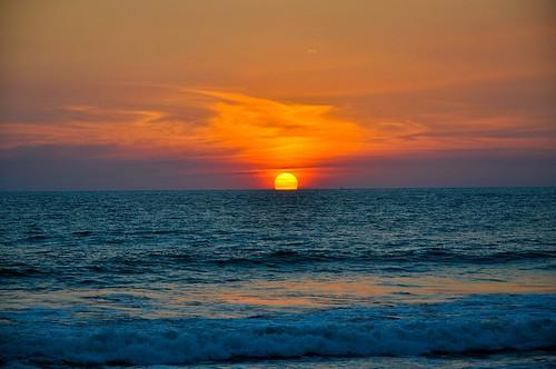 Ocaso en la playa (8)