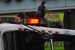 Godzilla on Engine 5 (Triborough) Tags: nyc newyorkcity ny newyork manhattan engine godzilla firetruck fireengine unionsquare fdny greenwichvillage seagrave newyorkcounty newyorkcityfiredepartment engine5