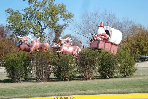 Santa in Texas