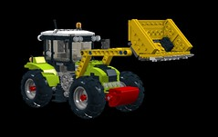 Claas AXOS with Digger tool - LDD