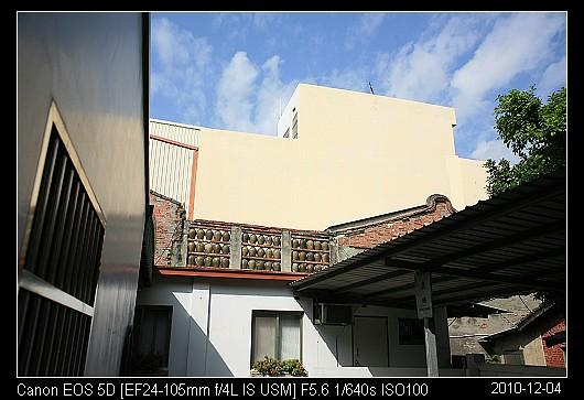 20101204Wall鹿港的甕牆