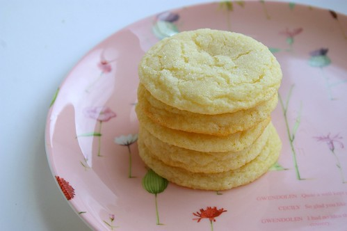 Chewy Lemon Cookies - Patent & the Pantry