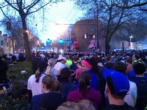 Seattle Half Marathon start