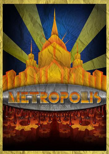 metropolis  1928  art deco