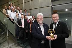 Meriva-Team mit dem Goldenen Lenkrad