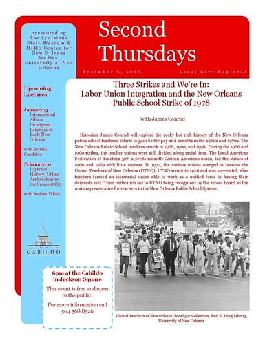 Second Thursdays: Three Strikes & We're In