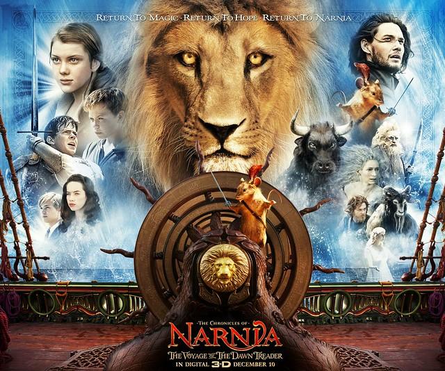 Thumb Análisis y Crítica a Las Crónicas de Narnia: La Travesía del Viajero del Alba