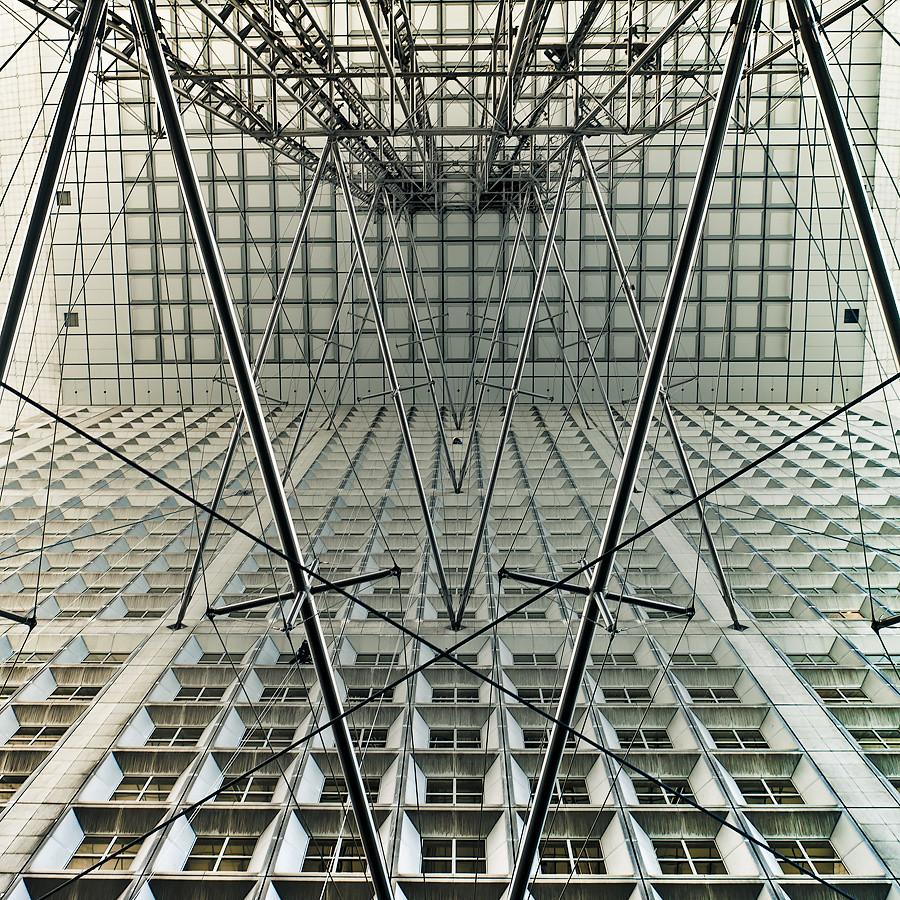 "Eric V Gallery: France / Paris / La Defense / ""Window Cleaner"""
