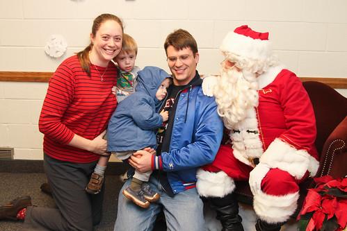 4 with Santa