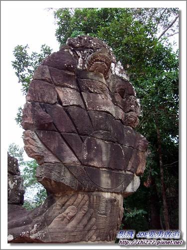 吳哥城-9頭蛇