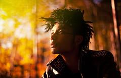 Last ray of light (David Olkarny Photography) Tags: wood 50mm faces bruxelles naturallight jacket portraiture jl staring namur colorpeople davidolkarny
