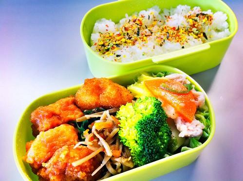 今日のお弁当 No.69 – 緑黄野菜