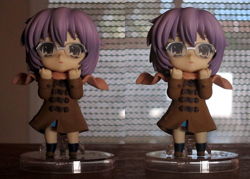 Nagato winter nendoroid 3D picture cross-eyed version