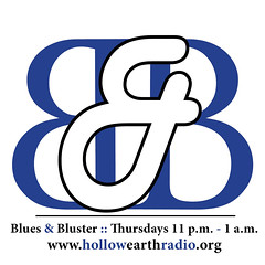 blues and bluster logo