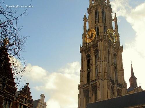 Antwerp Cathedral in Belgium