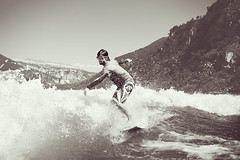 Go Surfing (Ibai Acevedo) Tags: lake agua surf surfer go pablo surfing springfield hy dulce pramo