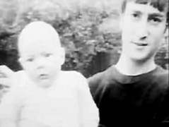 Baby Julian and John Lennon (LittleJulian'sGuardianAngel) Tags: john paul george evans julian harrison circus stones may maureen beatles boyd lennon cynthia ringo mal mccartney rolling pang starr pattie