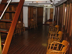 Officers' Country on the USS Olympia (FranMoff) Tags: boat ship chairs navy olympia cruiser uss c6 ca15 protectedcruiser cl15 ix40 officerscountry