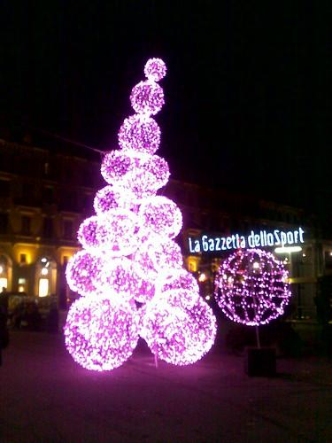 L'albero rosa della Gazzetta