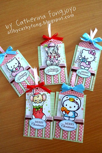 Pocket Christmas Tags