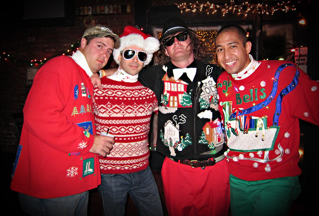The Ugly Christmas Sweater Party - 2010