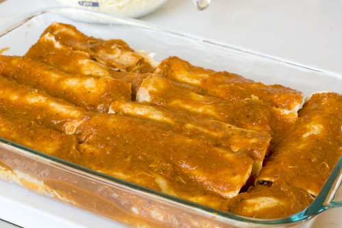 pork enchilada assembly 4