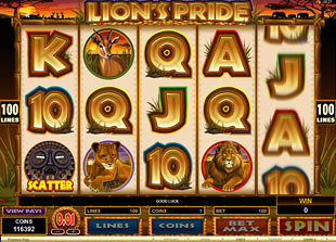 Lion's Pride slot game online review