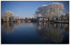 Tramway Bridge & River Avon, Stratford. (Phil Dodd CPAGB BPE1*) Tags: winter stratforduponavon dapagroupmeritaward dapagroupmeritaward3 dapagroupmeritaward2