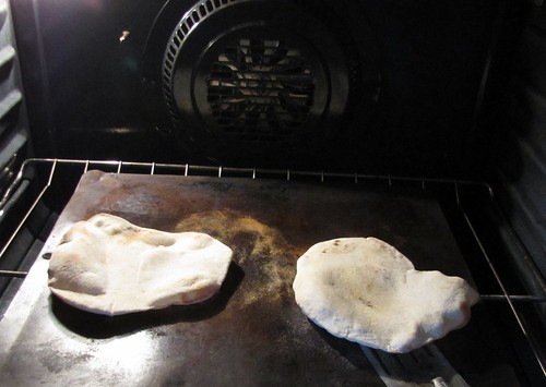 We like to bake pita...