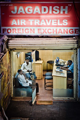 Air Travel (ScottJphoto) Tags: world red india abstract airplane air bangalore internet business changing future customer lonely trave travelagent