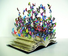 Book Of Life (Eden Fine Art Gallery, Mamilla , Jerusalem) Tags: sculpture art book modernart fineart butterflies bible metalsculpture literalism lasercut bookoflife davidkracov jerusalemartgallery edenmamilla