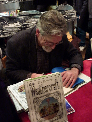Jim Woodring, Fantagraphics Bookstore & Gallery, Dec. 11, 2010